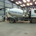 concrete 4u mixer