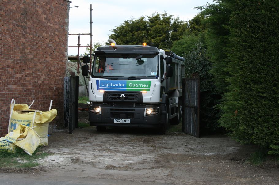 Pickhill Aggregate Delivery